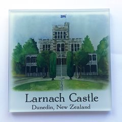 Larnach Castle Glass Coaster