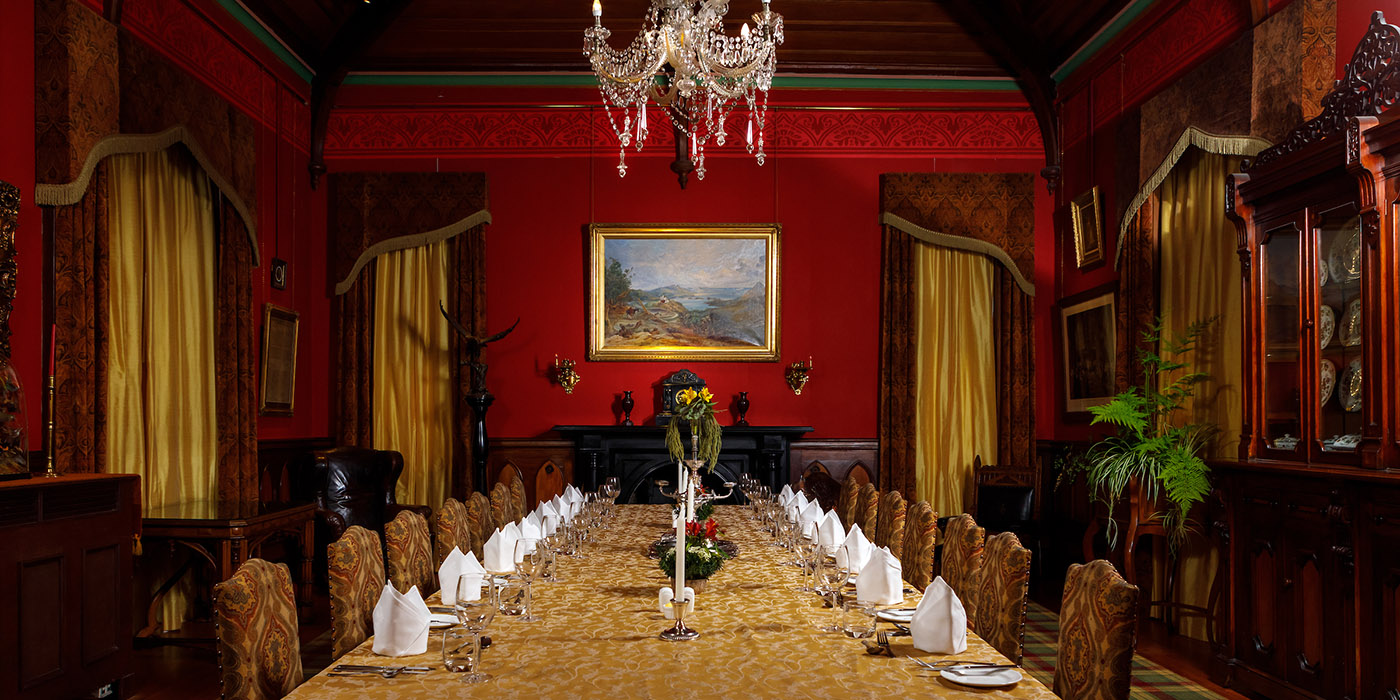 Dinner at Larnach Castle