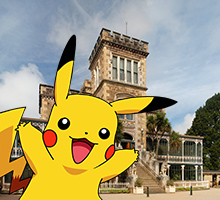 Dunedin: Pokemon-Go Capital, Larnach Castle