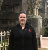 Larnach Castle Head Housekeeper acknowledged with the Unsung Hero award, Larnach Castle
