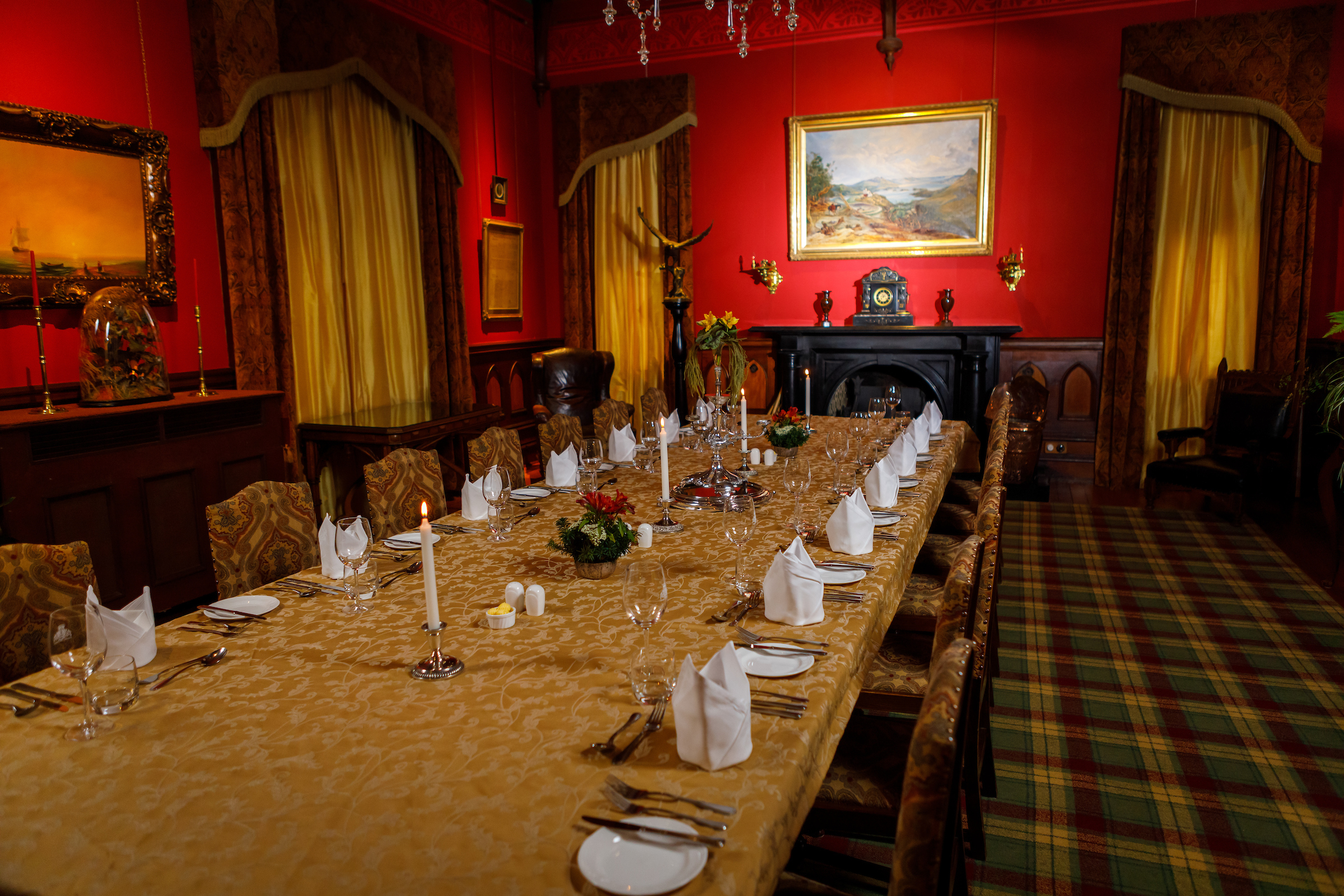 Dinner in the Castle, Larnach Castle