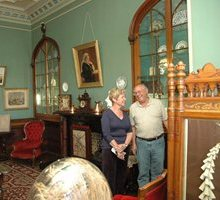 App takes castle back in time, Larnach Castle