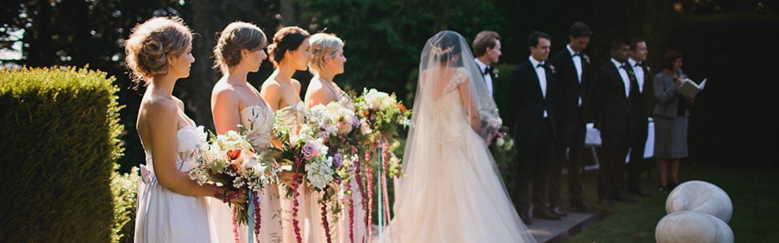 Weddings Venue Hire Larnach Castle Gardens New Zealands