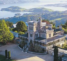 Winter at Larnach Castle